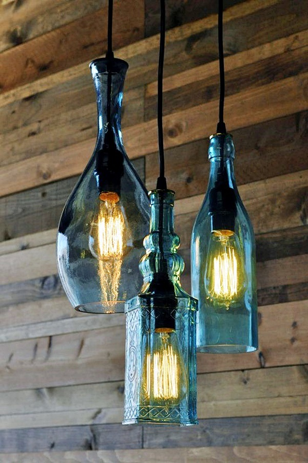 Recycle Old Wine Bottles~DIY's