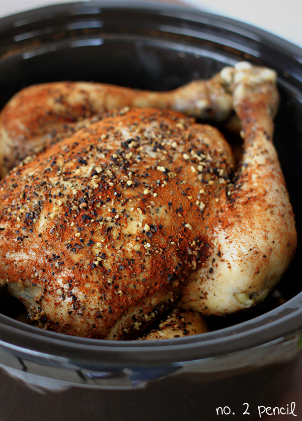 THE BEST SLOW COOKER CHICKEN