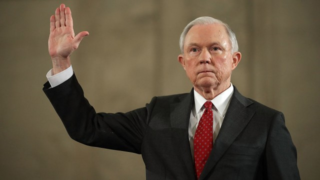 Nancy Pelosi-Jeff Sessions must resign over ties with Russia