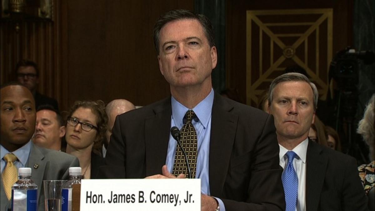 FBI James Comey Opens Senate Hearing Discussing Female Genital Mutilation Case