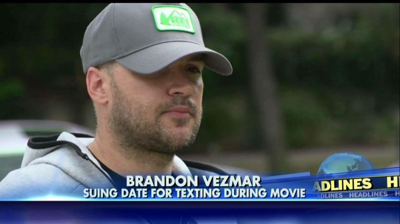 Texas man sues date for texting during 'Guardians of the Galaxy' movie