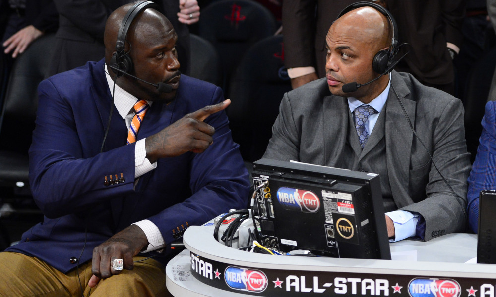 SHAQ THREATENS TO PUNCH CHARLES BARKLEY 'IN THE FACE'