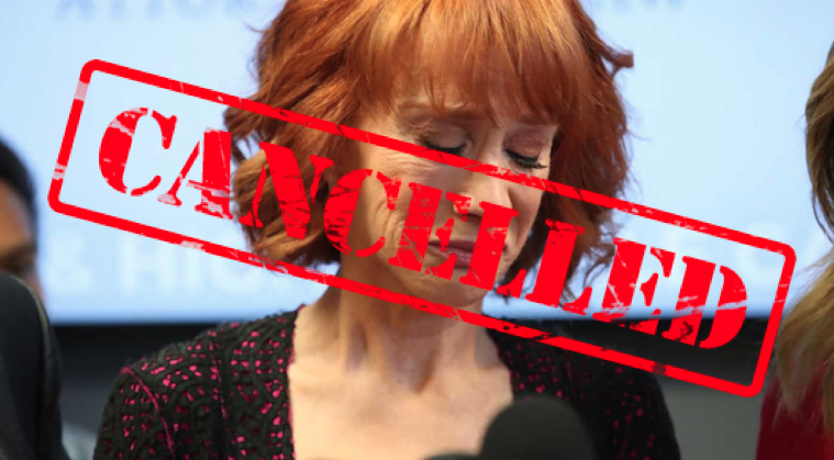 Last Theater On Comedy Tour Gives Kathy Griffin The Ax