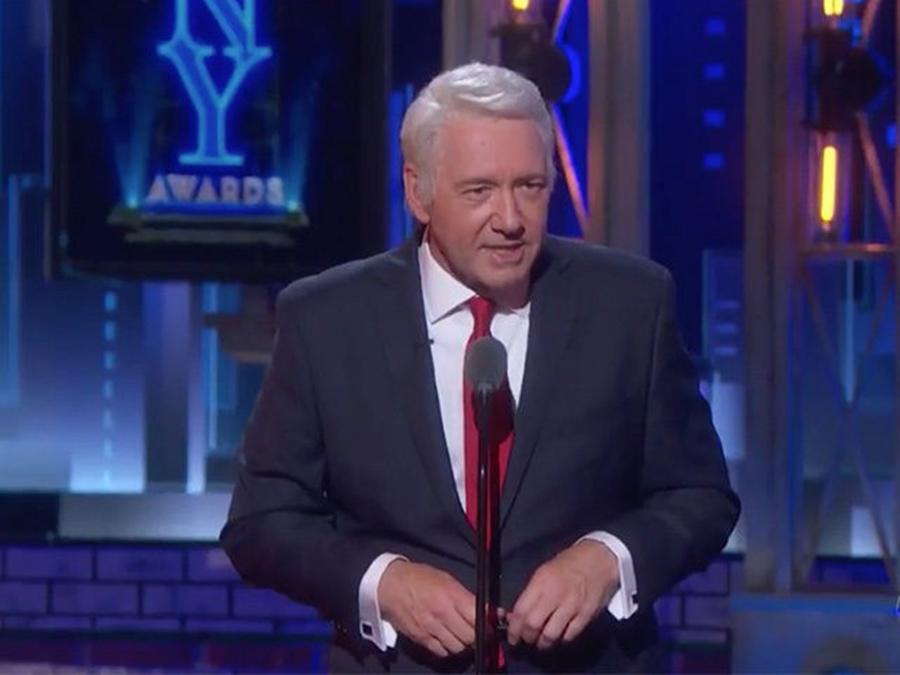 Kevin Spacey Mocked Hillary Clinton At The Tony Awards