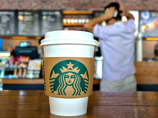 Starbucks Employees Mock Trump Supporter Wearing Trump Shirt