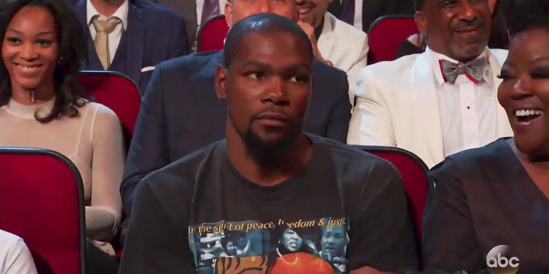 Kevin Durant NOT FEELING Peyton Manning's Joke