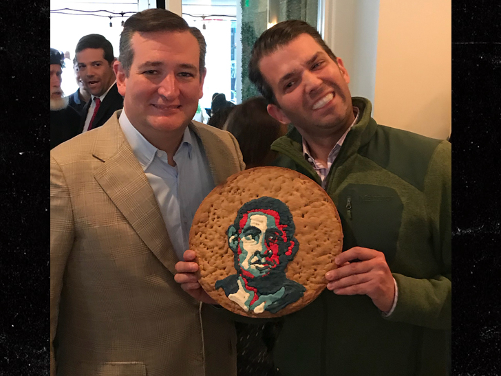ANGRY RESTAURANT OWNER CRIES RACISM OVER DONALD TRUMP JR.'s Obama Cookie Photo Op