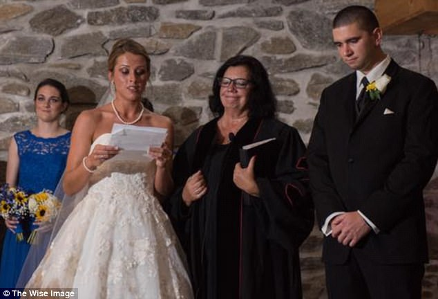 Bride Says Her Vows During Wedding Ceremony, Turns To Groom's Ex-Wife And Calls Her Out