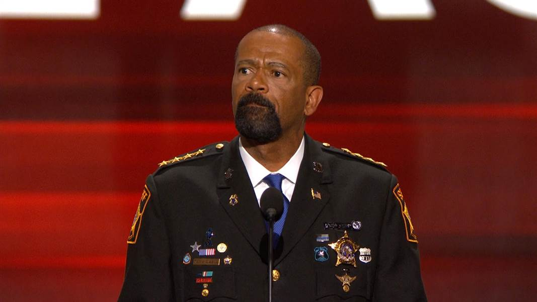 FBI Investigating Sheriff David Clarke; Search Warrant Issued on Sheriff Clarke's Email
