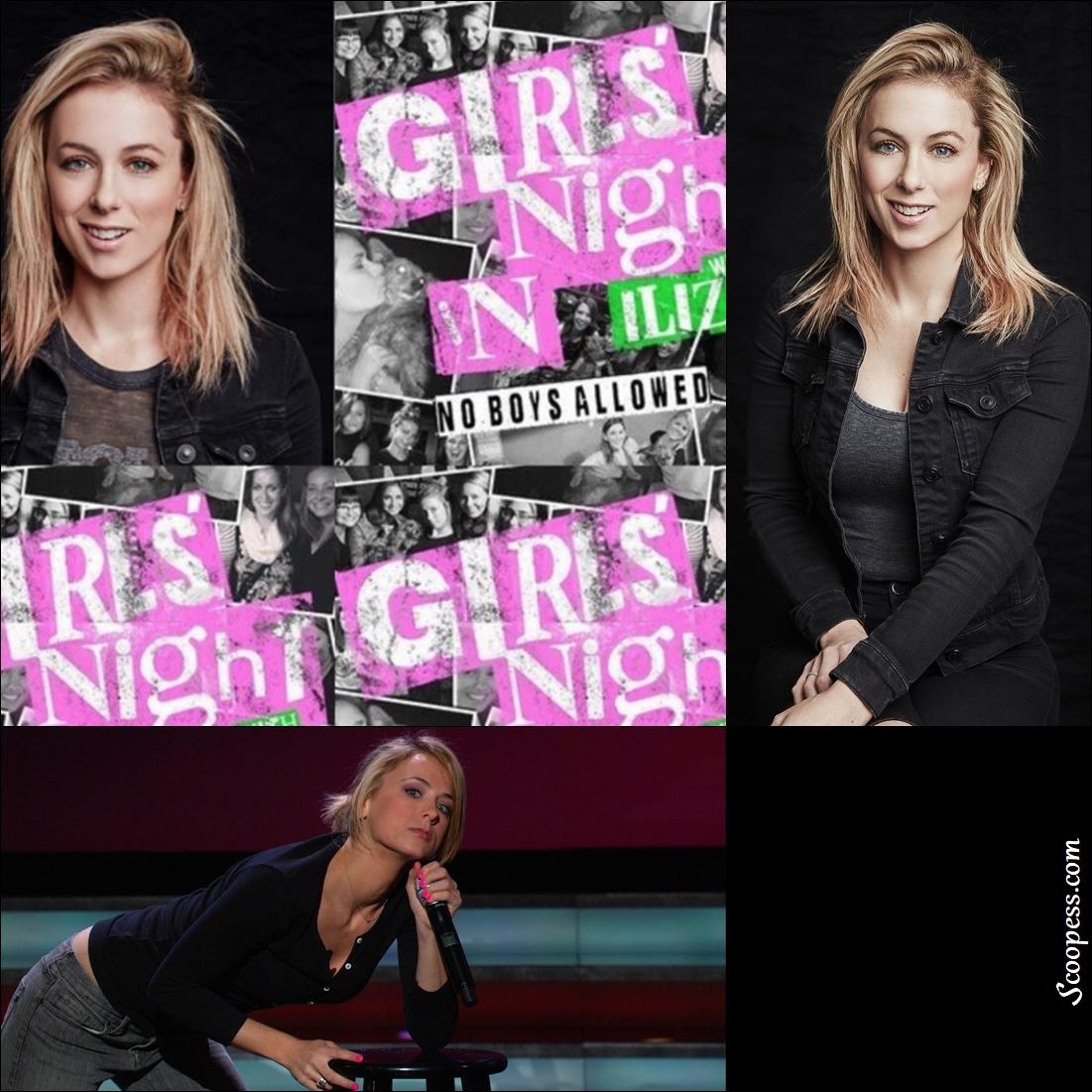 """Female Comedian Iliza Shlesinger Sued waging a """"War On Men"""""""