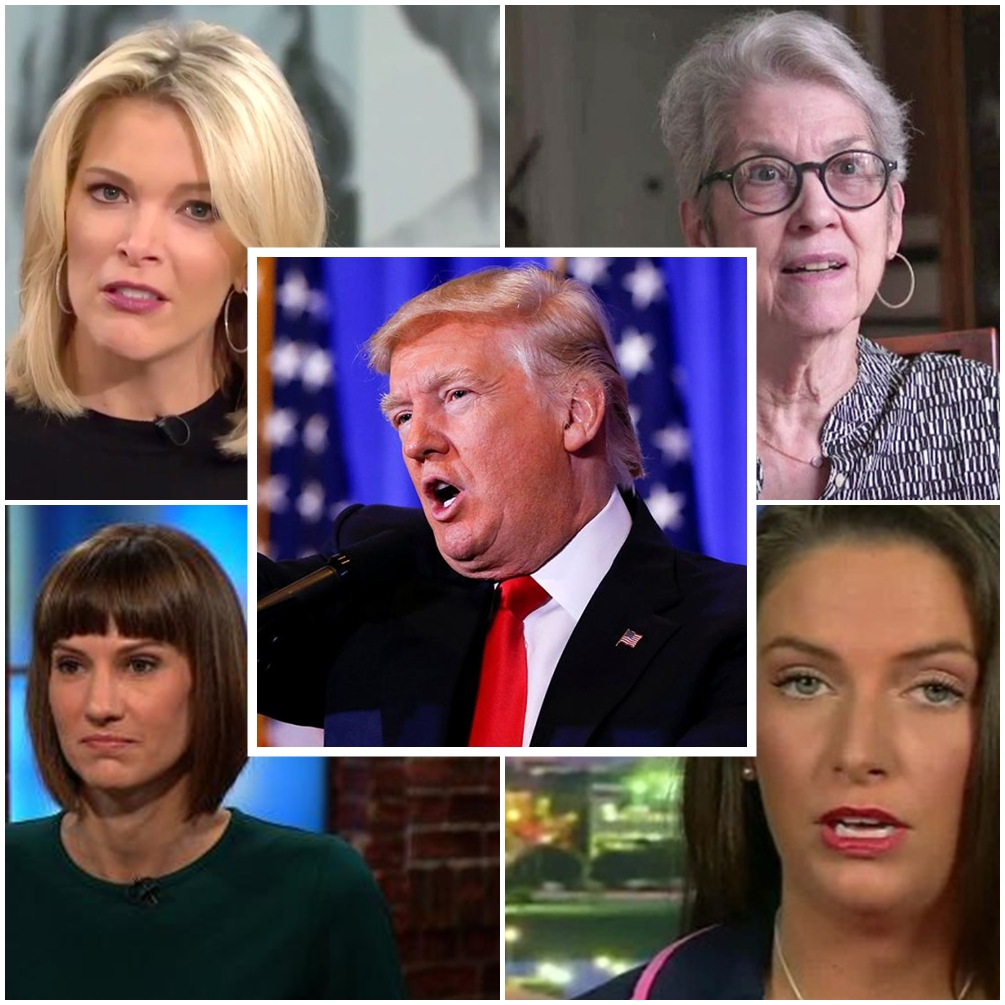 'Piece of meat': Trump sexual misconduct accusers appear with Megyn Kelly on 'Today' Sure. The timing isn't weird at all.