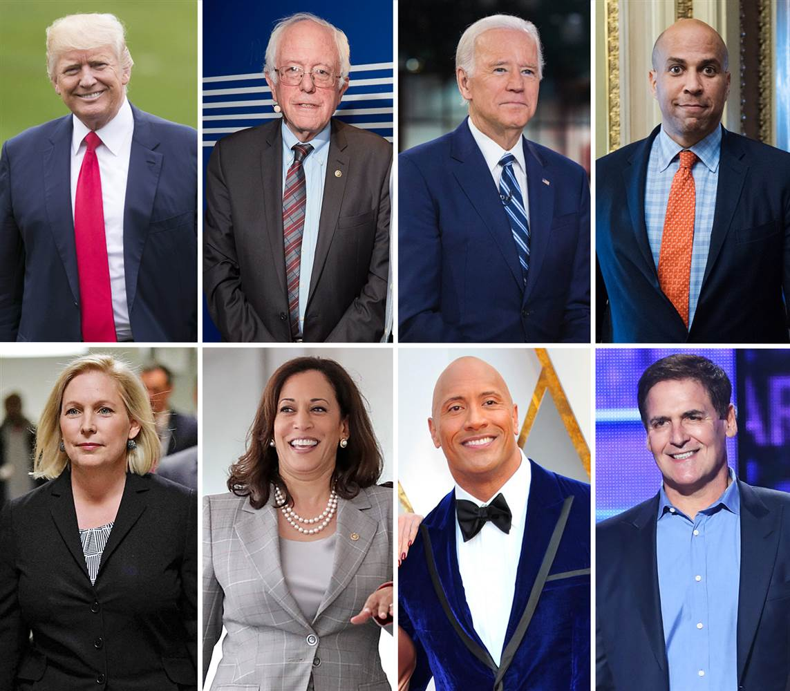 Democrats already campaigning for 2020 and so is President Trump