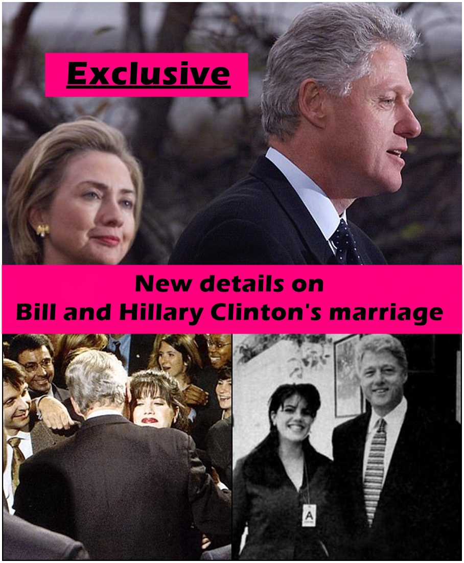 New book reveals:After her humiliating healthcare reform failureBill Clinton sought 'solace' in Monica Lewinsky because he could 'no longer trust' depressed Hillary