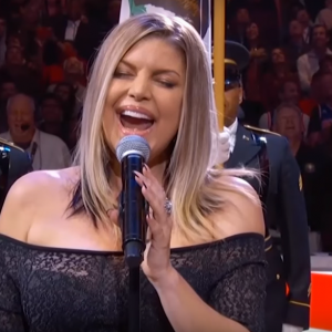Fergie Sings Bizzare Rendition of U.S. National Anthem