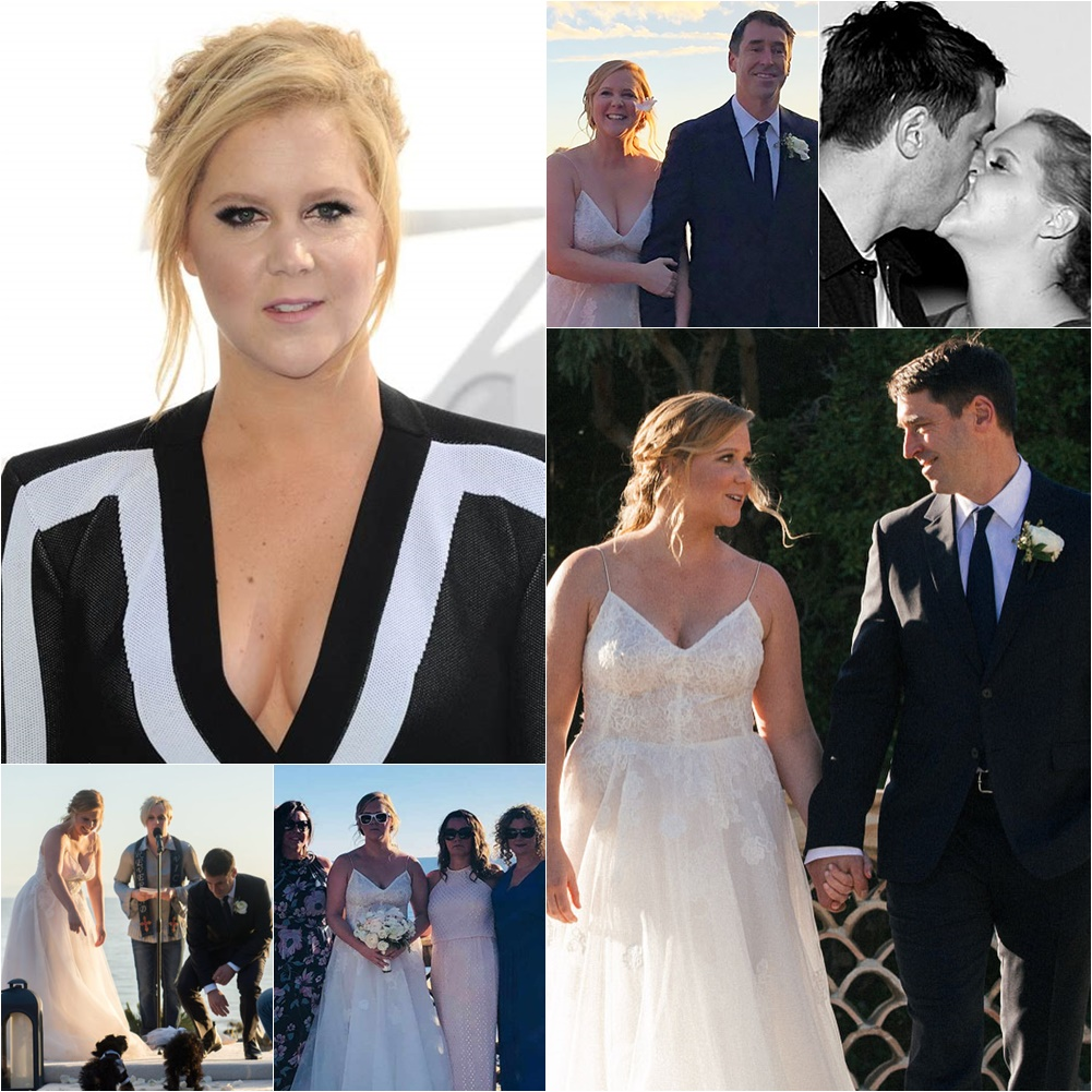 Story Comedian Iliza Shlesinger Wedding: Amy Schumer And Boyfriend Chef Chris Fischer Tie The Knot