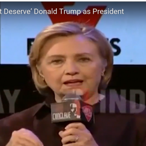 Hillary Clinton Says Women Voted for Trump Because Men Made Them