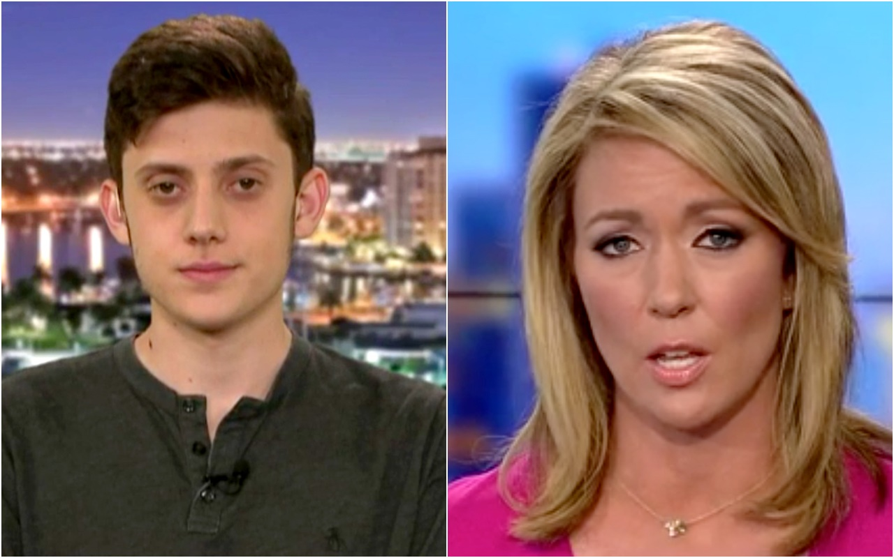 CNN's Baldwin Cancels Kyle Kashuv After He Tweets About Her