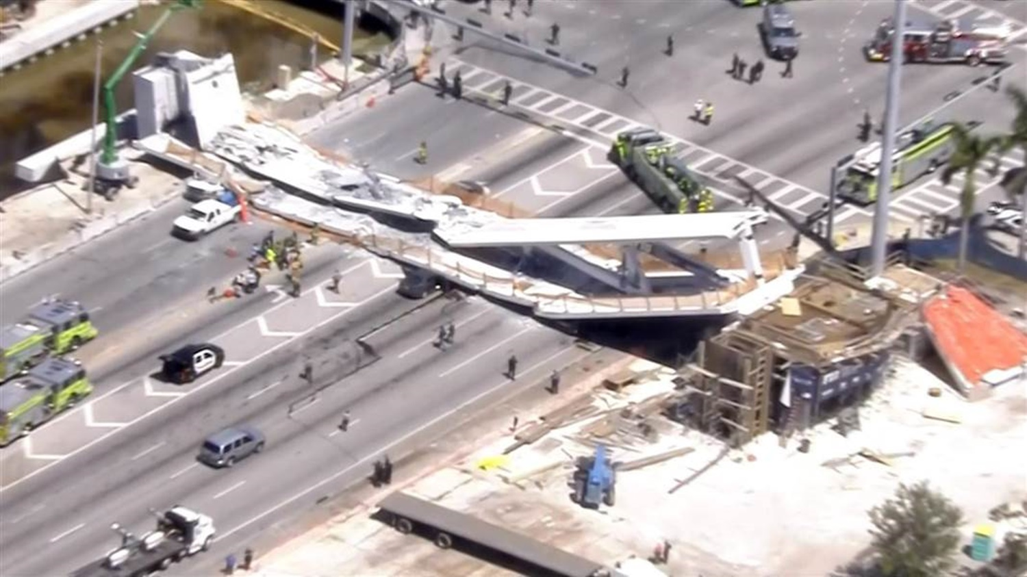 Multiple Deaths and Injuries After Florida University Bridge Collapses