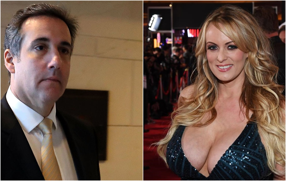 Stormy Daniels Sues Trump's Attorney For Defamation Stormy Daniels sued Donald Trump's lawyer Michael Cohen on Monday for defamation, according to court documents, escalating a legal battle between the president and the porn star.