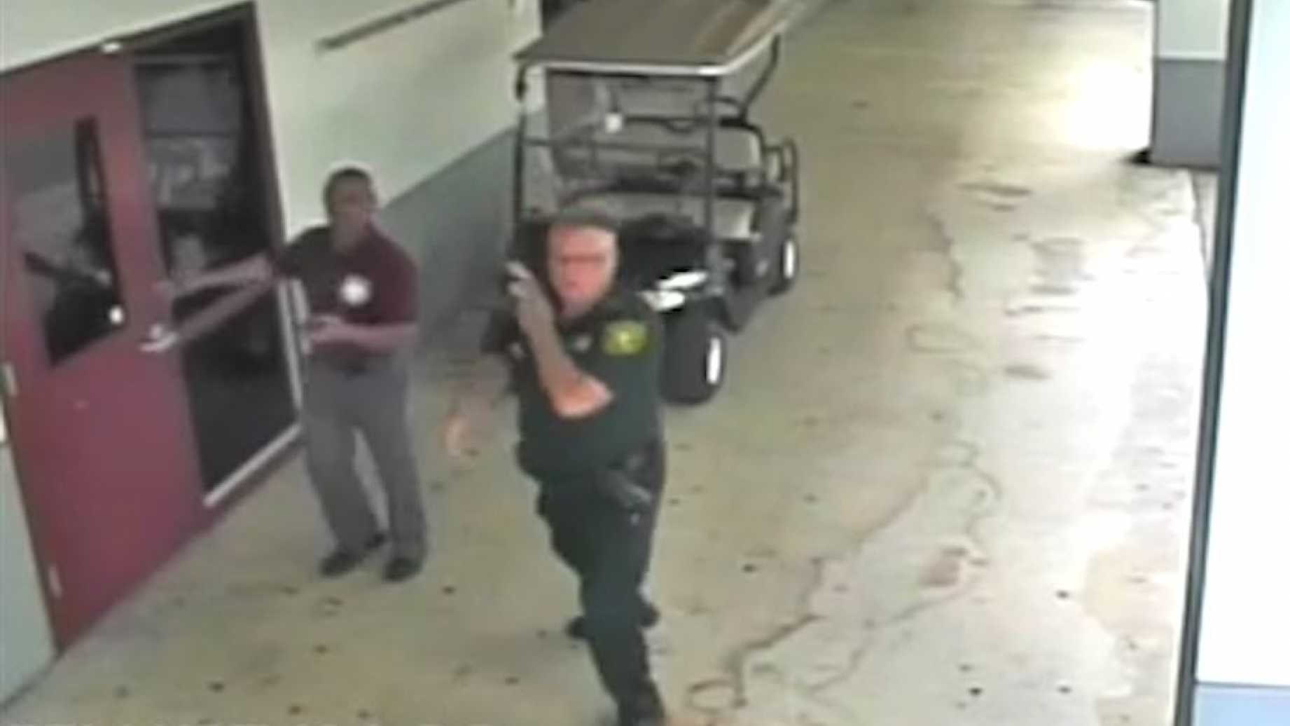 WATCH: Broward County Sheriff's Office Releases Video of Officer Standing Around As Massacre Occurred