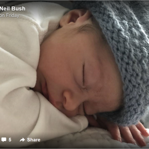 Bushes Welcomed New Member to Family 2 Days After Barbara's Death