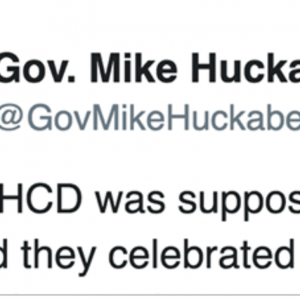 Papa Bear Gov Mike Huckabee Responds To NASTY Attack On Sarah At WHCD