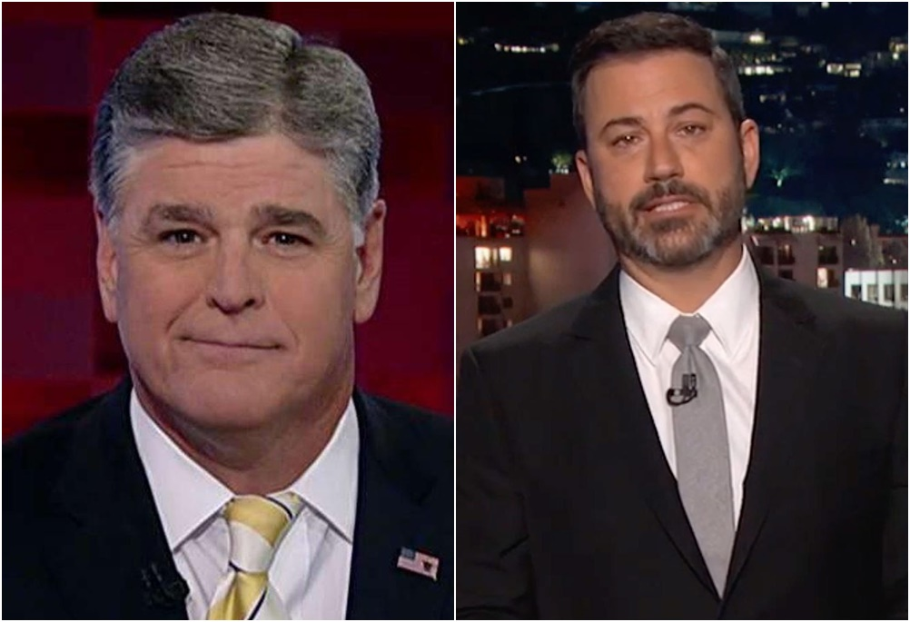 Infantile Jimmy Kimmel Hits New Low In War of Words Feud With Sean Hannity