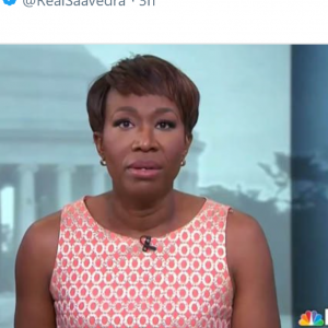 Daily Wire Reporter Tweets MSNBC'S Joy Reid Imminent Warning