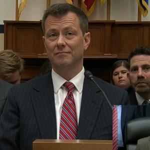 (WATCH LIVE) FBI's Peter Strzok Testifies on Anti-Trump Bias Before House Panel