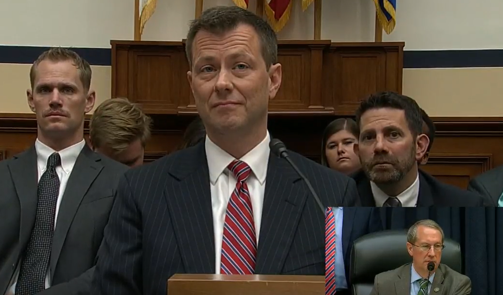 (WATCH LIVE) FBI's Peter Strzok Testifies on Anti-Trump Bias Before House Panel