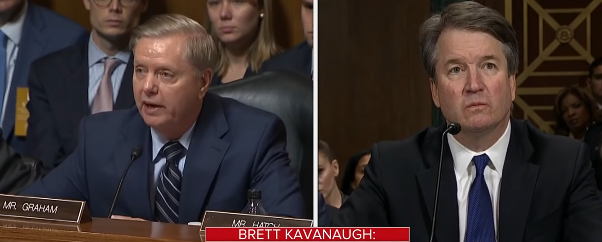 Lindsey Graham Unleashes On Democrats During Kavanaugh Testimony