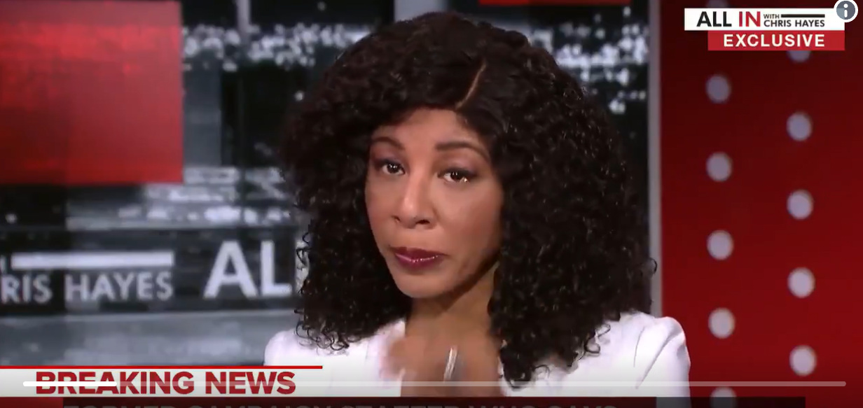 OMG... Woman Alleging Trump Kissed Her Without Consent Cries on MSNBC 'I Was Afraid'