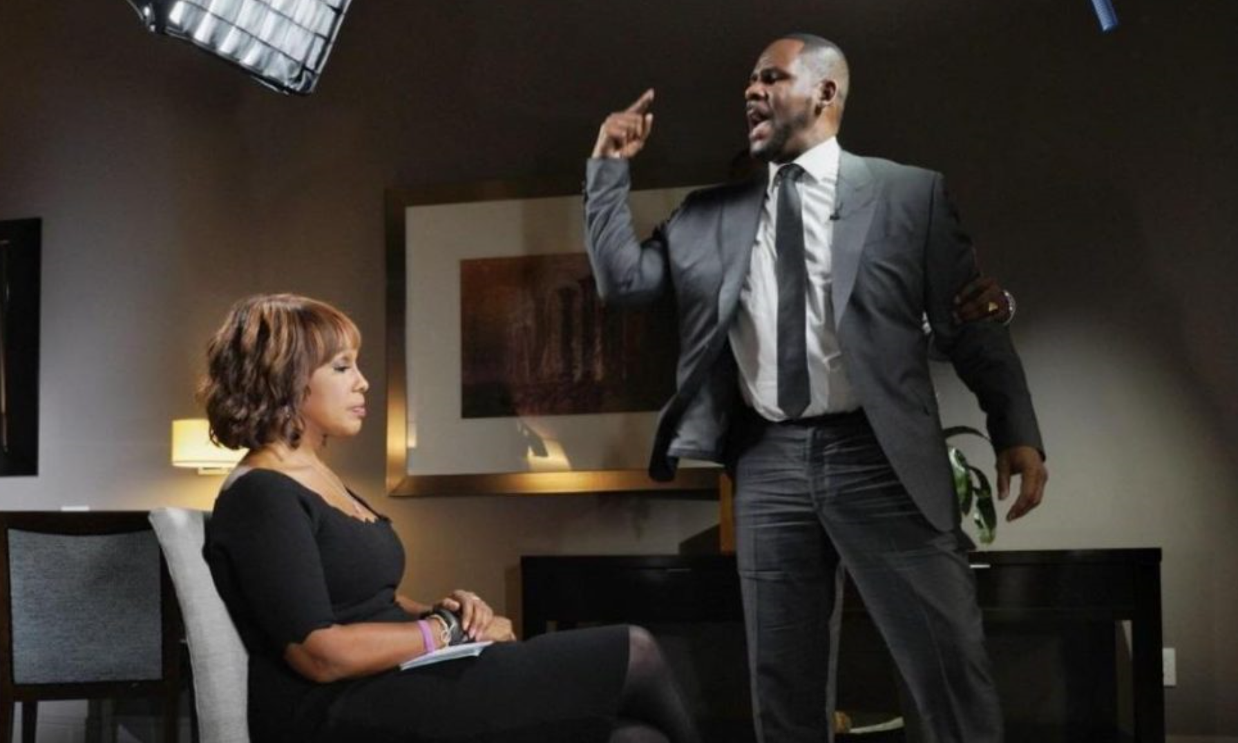 Gayle King praised for keeping composure in the explosive R Kelly interview