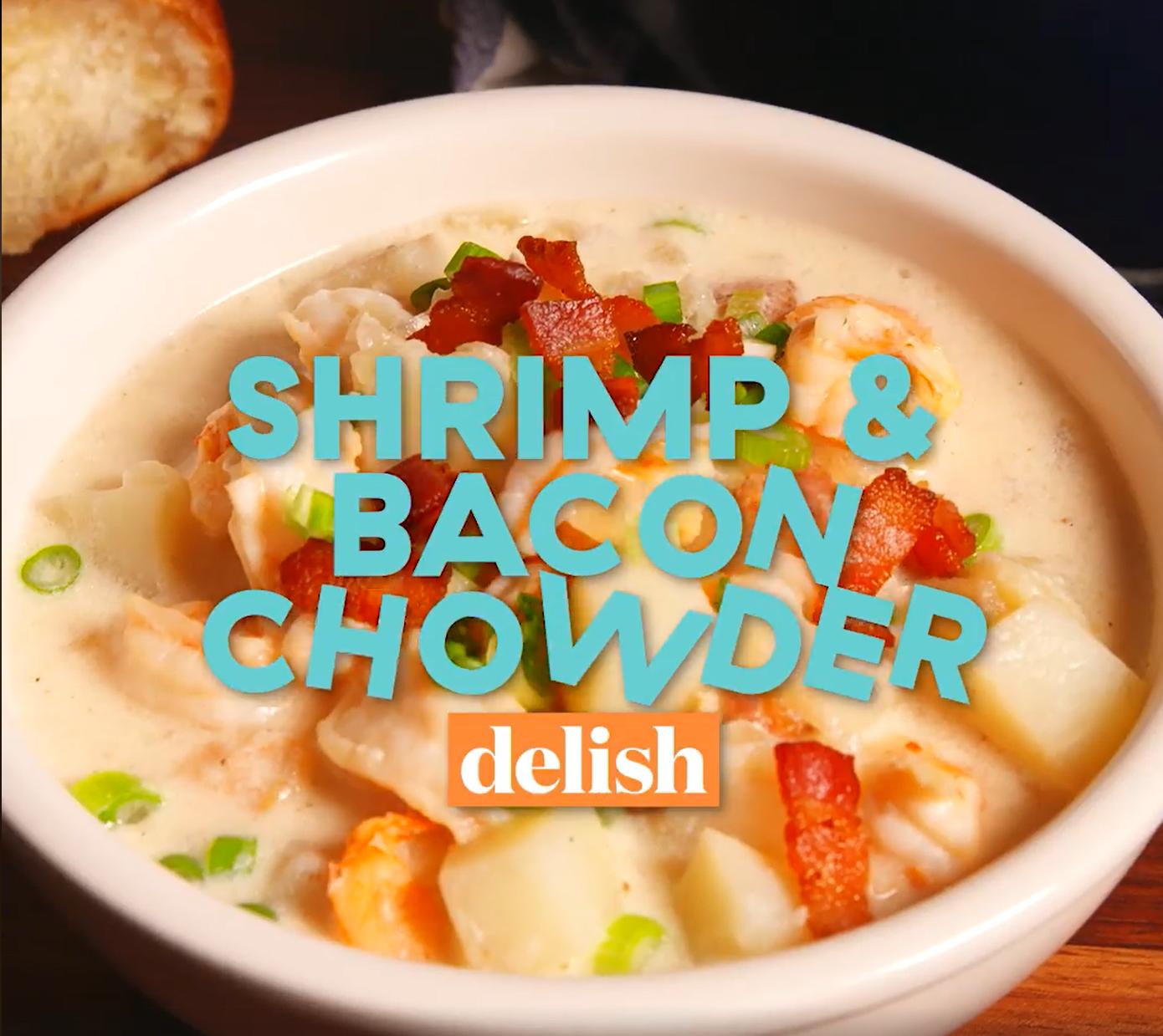 Shrimp 'n' Bacon Chowder