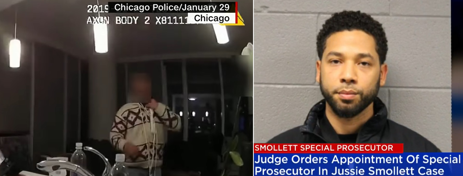 Jussie Smollett Video Shows Noose Around His Neck