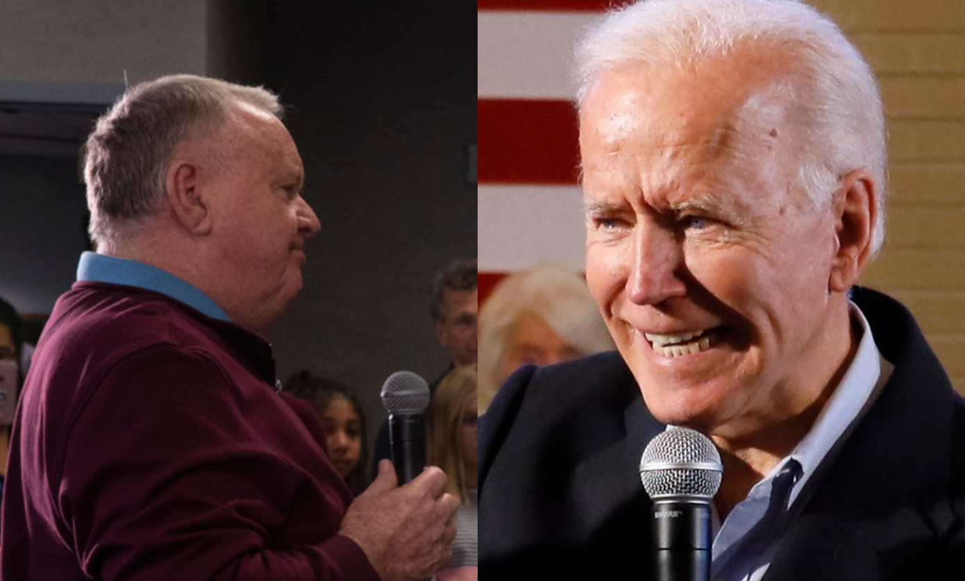 "Joe Biden lashes out at voter ""you're a damn liar, man"", Biden calls him 'fat' after the voter repeats accusations against son 'Hunter' and Ukraine"