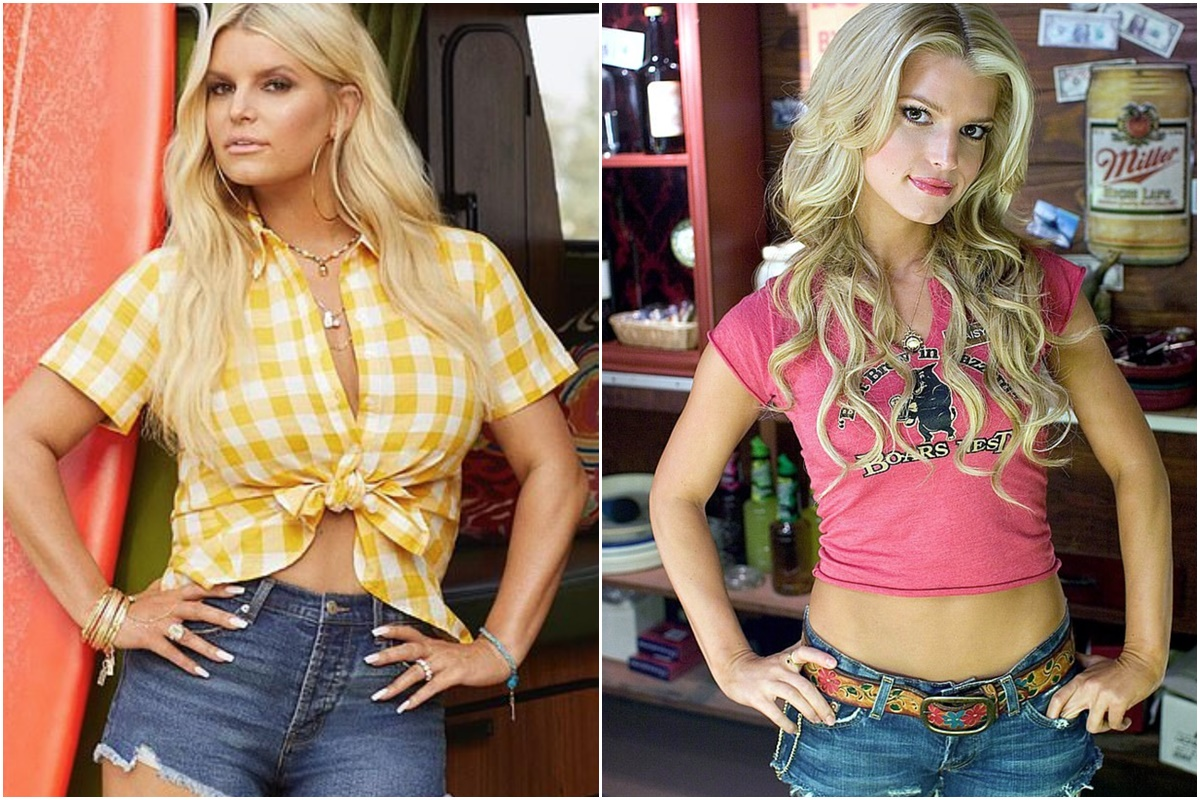 Jessica Simpson slips back into a pair of Daisy Dukes after shedding over 100lbs | Food and